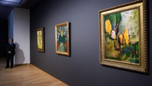 Paul Smidt in Van Gogh Museum