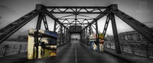 achtergrond brug twee